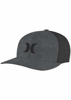 Hurley Men's Icon Textures Snapback Baseball Cap  L-XL