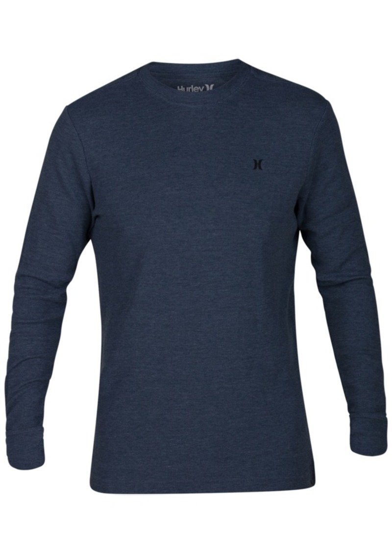 417f15be06f6d Hurley Hurley Men s Icon Waffle-Knit Thermal T-Shirt