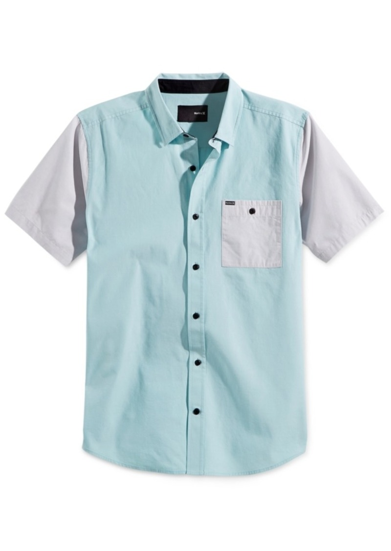 Hurley Men's Jensen Colorblocked Short-Sleeve Shirt