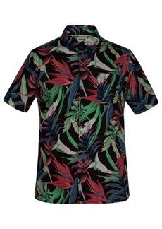 Hurley Men's Jungle Trip Printed Shirt