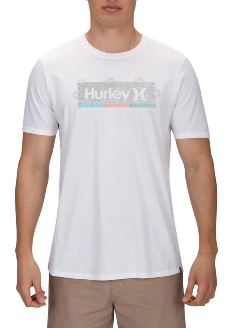 Hurley Men's Kaleidoscope Logo T-Shirt