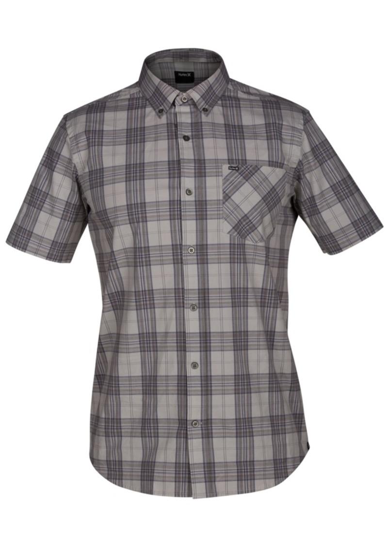 Hurley Men's Landfall Plaid Pocket Shirt