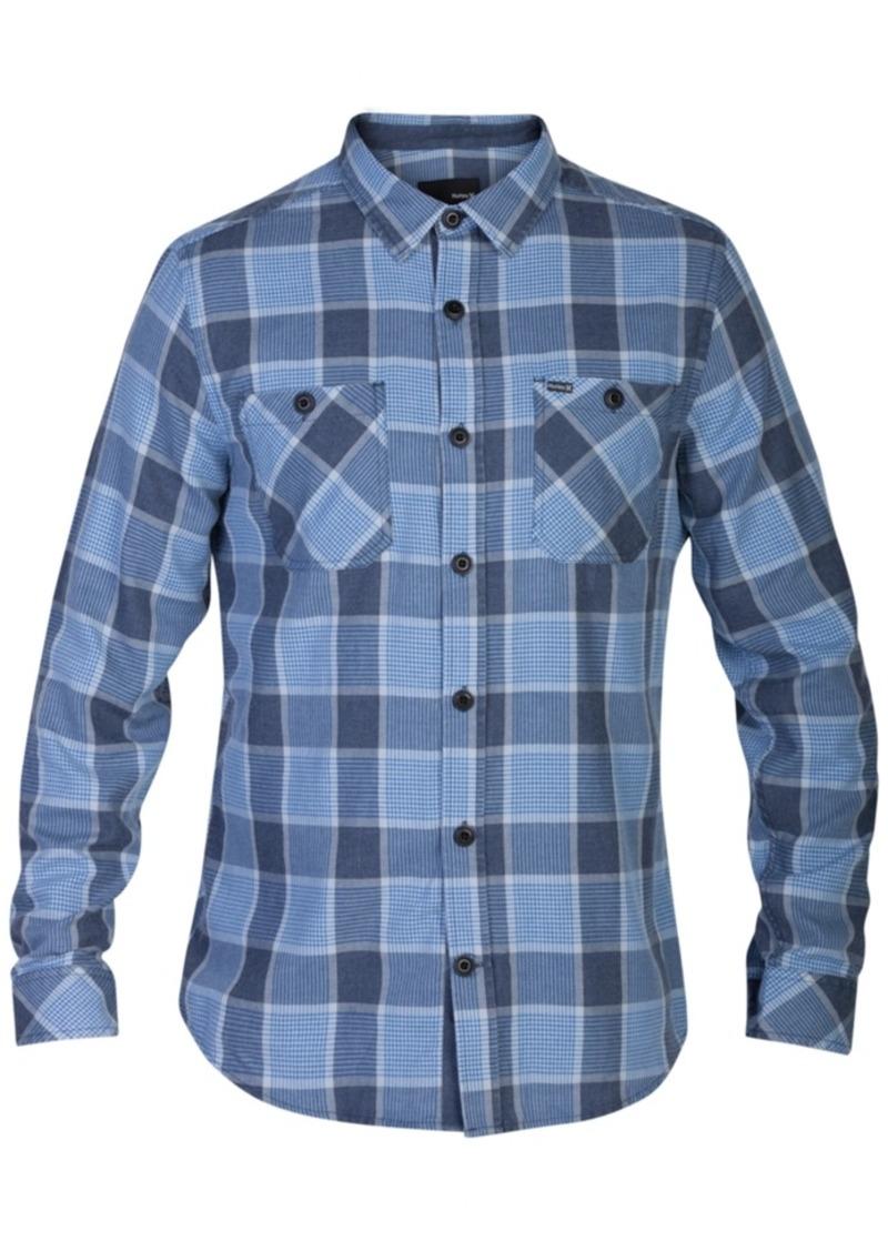 Hurley Men's Long-Sleeve Landon Plaid Shirt