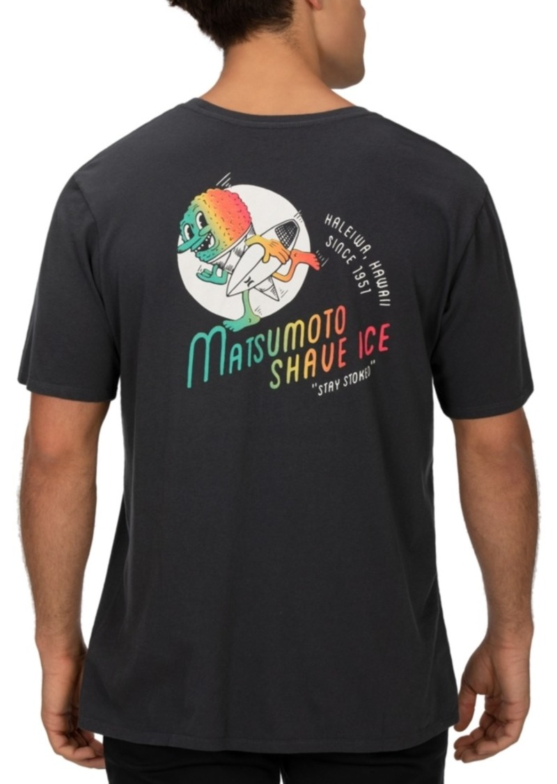 Hurley Men's Matsumoto Shave Ice Logo Graphic T-Shirt