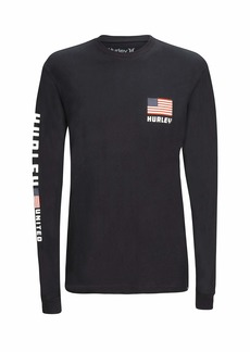 Hurley Men's Premium Destination Long Sleeve  M