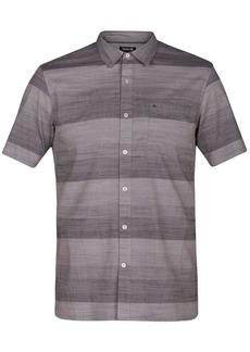 Hurley Men's Morris Ombre Stripe Shirt