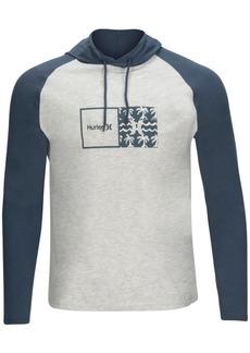 Hurley Men's Natural Jersey Hooded Shirt
