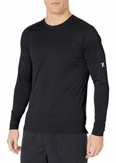 Hurley Men's Nike Dri-Fit Long Sleeve Sun Protection +50 UPF Rashguard  S