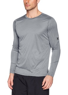 Hurley Men's Nike Dri-Fit Long Sleeve Sun Protection +50 UPF Rashguard  XL