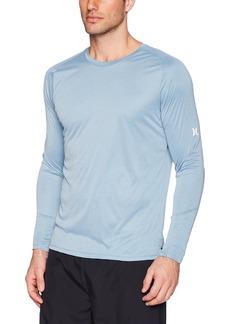 d31bd16039 Hurley Men's Nike Dri-Fit Long Sleeve Sun Protection +50 UPF Rashguard XXL