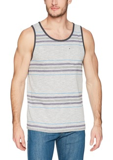 Hurley Men's Nike Dri-Fit Stripe Yesterday Tank Top  L