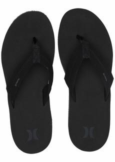 Hurley Men's Nike Lunarlon Lunar Flip Flop Sandal Black Anthracite  M US
