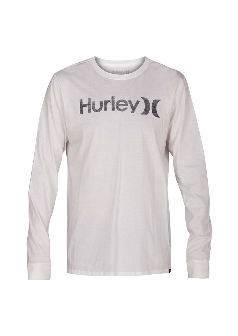 ad44a89113 Men's One & Only Push Thru Graphic Long Sleeve Tee Shirt S