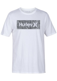 Hurley Men's One And Only Box Logo T-Shirt