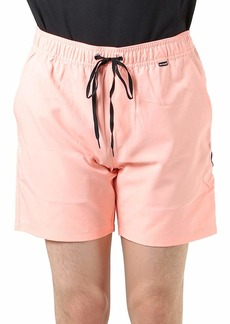 """Hurley Men's One and Only Volley 17"""" Board Short  L"""