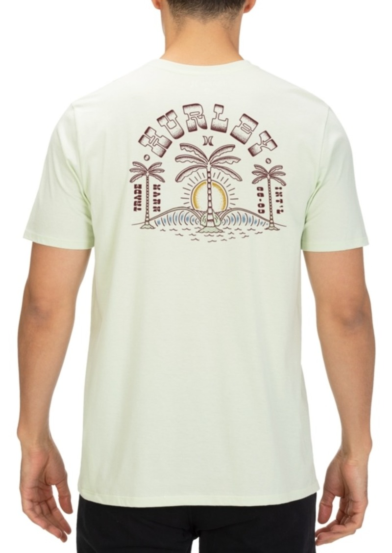 Hurley Men's Paradise Symmetry Graphic T-Shirt