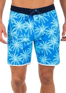 "Hurley Men's Phantom 9 Palms Stretch 18"" Board Shorts"
