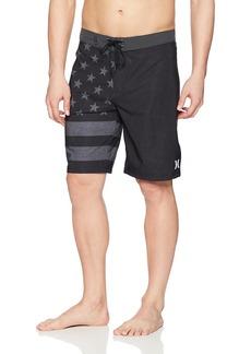 "Hurley Men's Phantom Cheers USA Flag 20"" Boardshort"