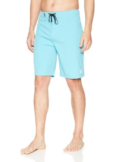 """Hurley Men's Phantom Fabric One and Only Stretch 21"""" Boardshort BETA Blue"""
