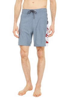 "Hurley Men's Phantom Fastlane Printed 18"" Board Shorts"