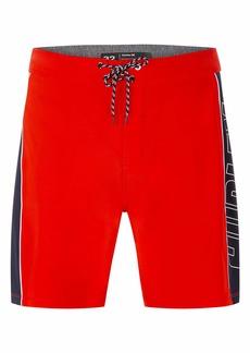 "Hurley Men's Phantom Fastlane Solid 18"" Board Shorts"