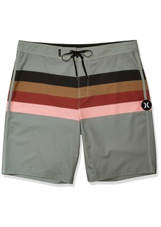 "Hurley Men's Phantom Jetties Stripe 20"" Boardshort Swim Short"