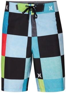 "Hurley Men's Phantom Kingsroad Check 20"" Board Shorts"