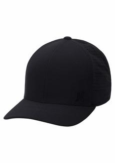 Hurley Men's Phantom Ripstop Curved Bill Baseball Cap Black L-XL