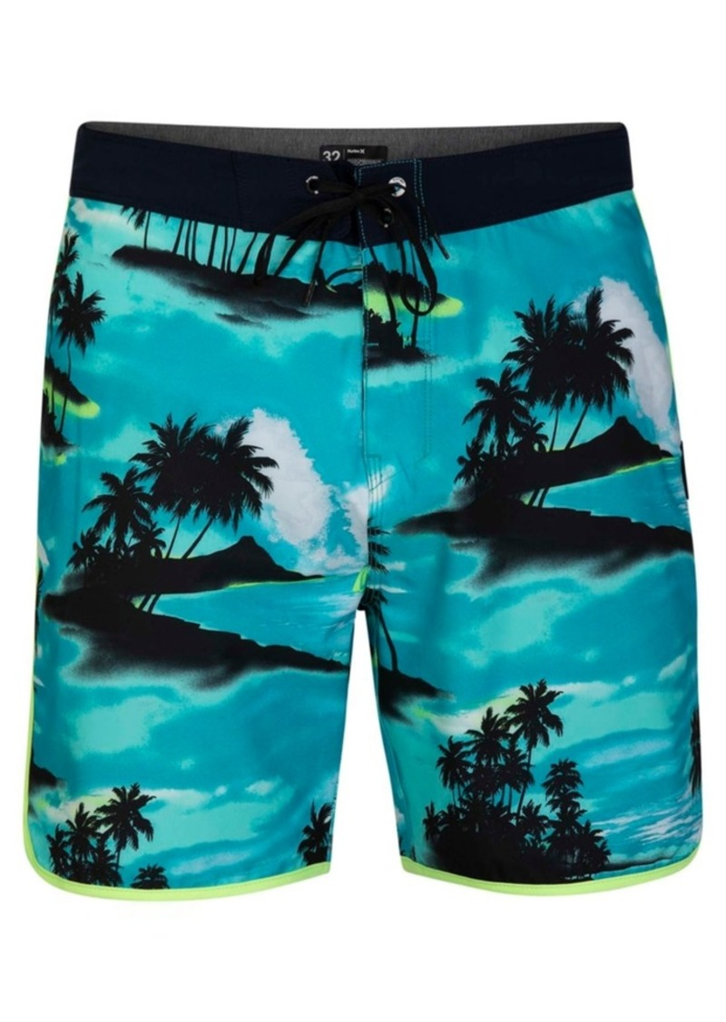 """Hurley Men's Phantom Waikiki 18"""" Board Shorts"""