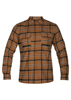 Hurley Men's Plaid Dri-fit Flannel Shirt