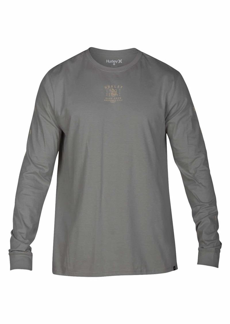 Hurley Men's Premium Long Sleeve Graphic Tshirt  XL