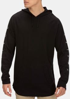 Hurley Men's Premium Mod Logo Graphic Raglan-Sleeve Hooded T-Shirt