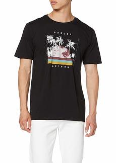 Hurley Men's Premium Palm Retro Short Sleeve Tshirt  M