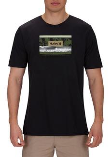 Hurley Men's Premium Poolside Graphic T-Shirt