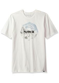 Hurley Men's Premium Short Sleeve Logo Tshirt sail XL