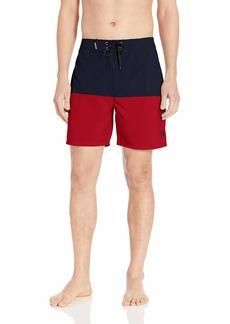 "Hurley Men's Printed Stretch 18"" Boardshort Swim Short"