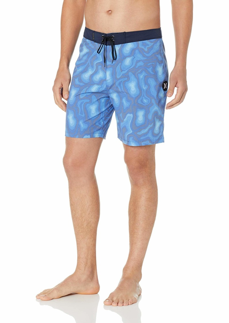 "Hurley Men's Printed Stretch 18"" Boardshort Swim Short"