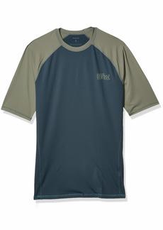 Hurley Men's Pro Light OG Short Sleeve Rashguard  XL