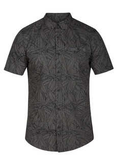 Hurley Men's Pupukea Palm-Print Pocket Shirt