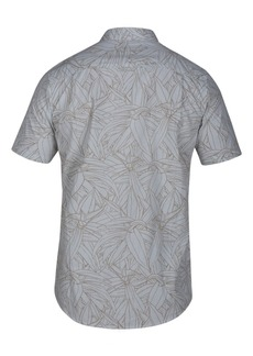 Hurley Men's Pupukea Palm-Print Pocket Shirt