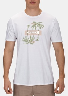 Hurley Men's Reflect Palms Graphic T-Shirt