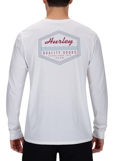 Hurley Men's Scripps Premium Logo Graphic T-Shirt