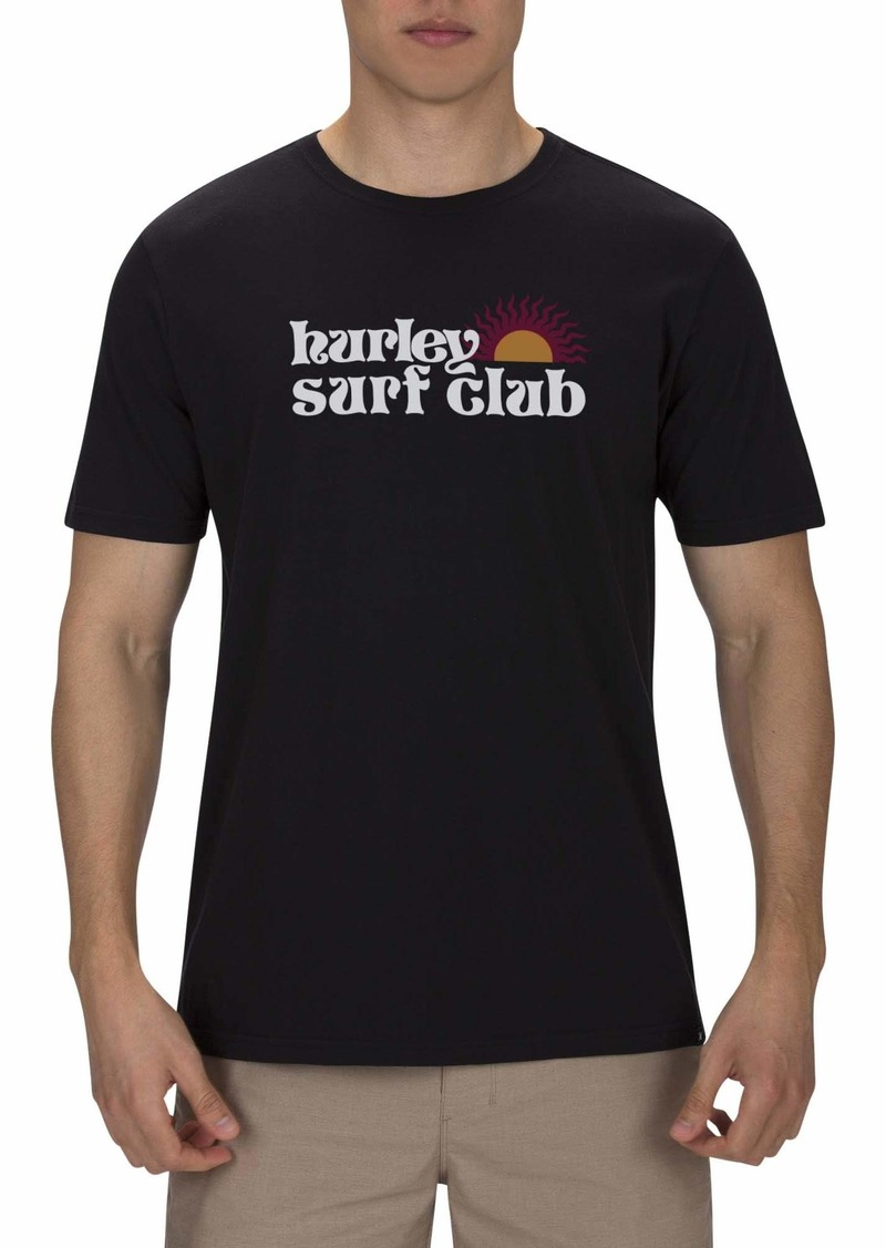 Hurley Men's Shine Short Sleeve Tshirt  XL