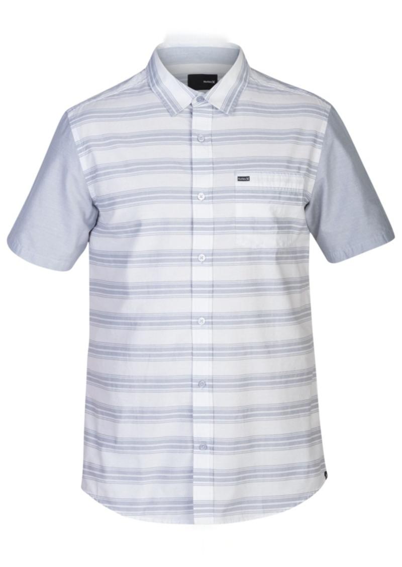 Hurley Men's Short-Sleeve Stripe Shirt