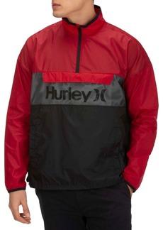 Hurley Men's Siege Anorak Logo Jacket