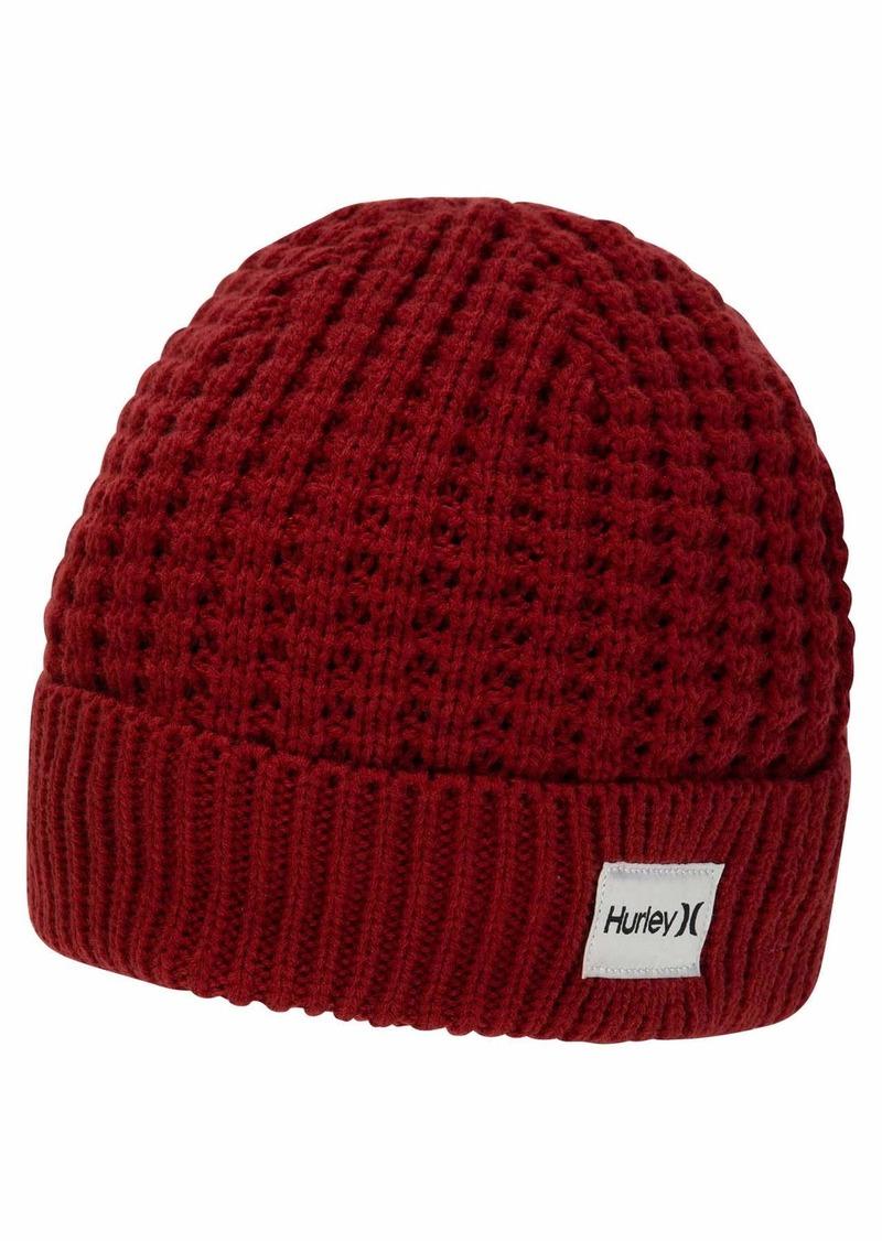 Hurley Men's Sierra Beanie Winter Hat Team RED