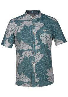 Hurley Men's Sig Zane Ululoa Botanical-Print Shirt