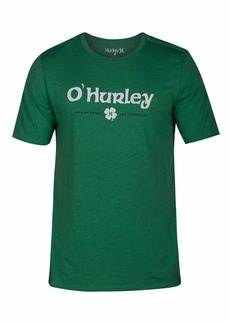 Hurley Men's St. Patrick's Day Graphic Tee  M