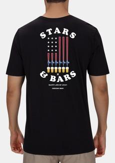 Hurley Men's Stars & Bars Graphic T-Shirt