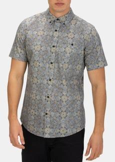 Hurley Men's Tile Mile Graphic Shirt